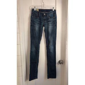 Machine denim stretch better butt jeans bootcut